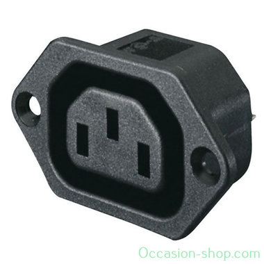 Showtec IEC Euro Female Chassis power connector