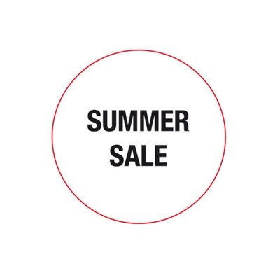 "Artecta Grafix Gobo text SUMMER ""SALE"""