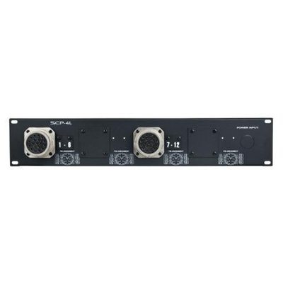 """Showtec Powerpanel 2 19"""" with 2x socapex and cabling"""