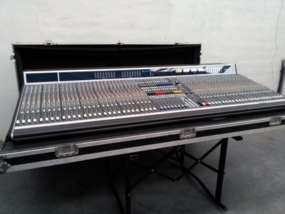 Altair Electra E3 48+4 analog automated live mixing console incl. Dual PSU