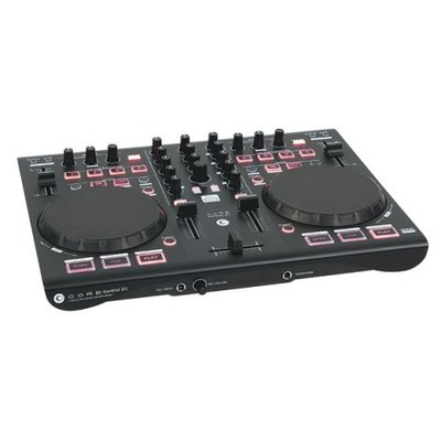 DAP CORE Kontrol D1 2-deck USB Midi controller with audio interface