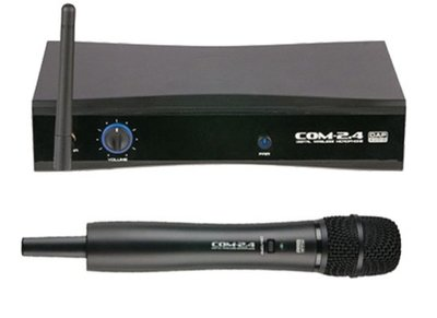 DAP COM-2.4 digital wireless microphone set 2.4GHz