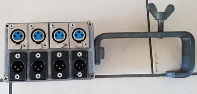PRG 4-way intercom distributor parallel