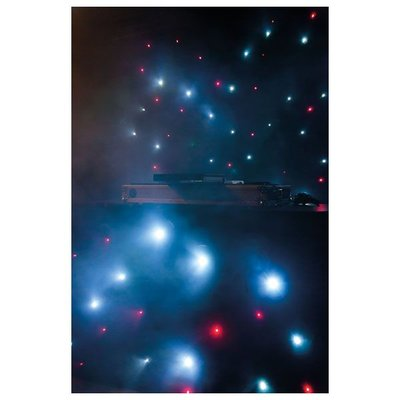 Showtec Stardrape DJ curtain set 2x3m & 1,2x2m inc contr & bag