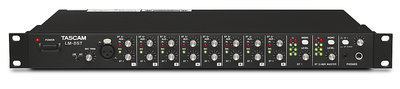 """Tascam LM-8ST 8-channel stereo line mixer 19"""" 1U"""